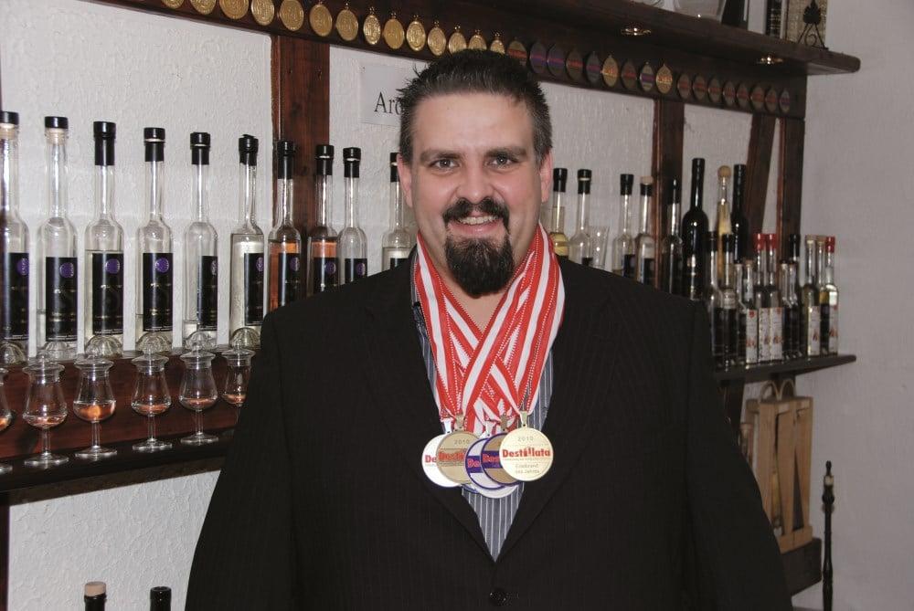 Destillata Auszeichnungen für Gin, Whisky, Likör, Edelbrände